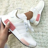 """One-nice simpleclothesv : """"Adidas"""" NMD Fashion Sneakers Trending Running Sports Shoes"""
