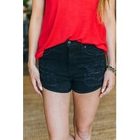 Kara High Rise Short-Black