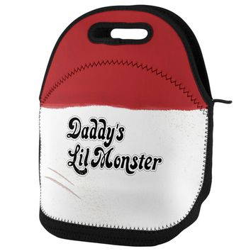 Daddy's Lil Monster Lunch Tote Bag