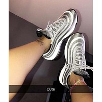 NIKE  Air Max 97 Fashionable casual shoes sports shoes