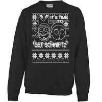 Rick And Morty - It's time to get schwifty - Unisex Sweatshirt T Shirt - SSID2016