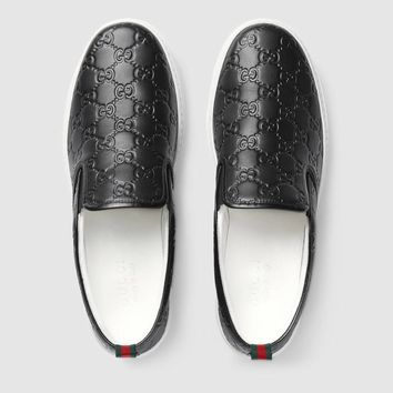 Gucci:Trending Fashion Casual Sports Shoes Black 12/31