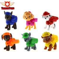 Hot 1Pcs Dog Toys Juguetes Kids Toys Canine Puppy Patrol Dogs Pet Puppy Patrol American Movie Figure Everest Ryder Skye Toys