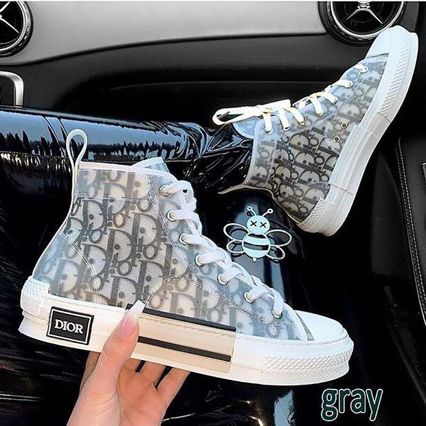 Image of DIOR b23 Letter recreational sneakers Shoes
