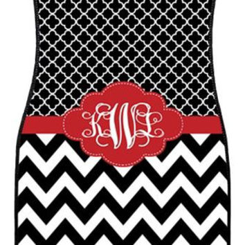 Car Mats Gift Ideas Car Accessories Monogrammed Car Mat Chevron Personalized Car Mats Monogrammed Car Mats