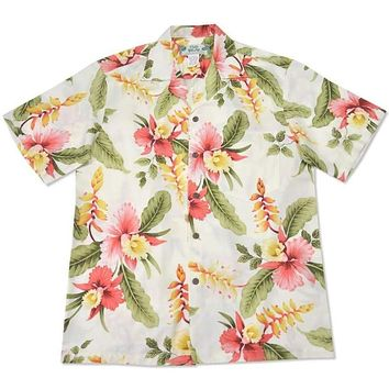 cloud hawaiian rayon shirt