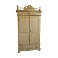 Pre-owned Antique French Cabinet Armoire