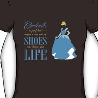 Cinderella - Shoes can change your life Women's T-Shirt