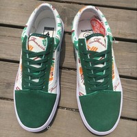 "Concepts x Vans Old Skool Pro ""Jamaica"" Flats Sneakers Sport Shoes"