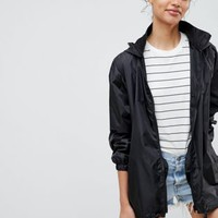 ASOS Rain Jacket with Fanny pack at asos.com