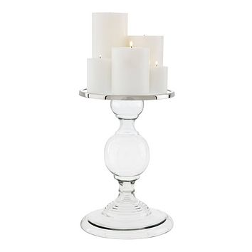 Glass Candle Holder - L | Eichholtz Providence