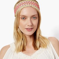 Beaded Floral Hair Wrap | Fashion Accessories – Moroccan Muse | charming charlie