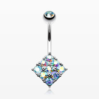 zzz-Sparkle Overload Belly Button Ring