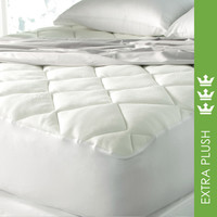 SPA LUXE COOL TOUCH BAMBOO TOP MATTRESS PAD - ALL SIZES