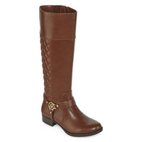 Liz Claiborne® Trina Quilted Riding Boots