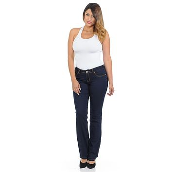 Sweet Look Premium Edition Women's Jeans - Bootcut - Style P-0651