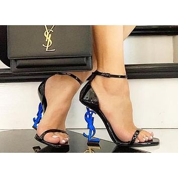 YSL 2019 new women's ultra-high heel stiletto with a high heel shoes 11#