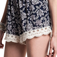 Ocean Dreamer Crochet Shorts w/ Pockets - Popular Item!