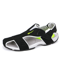 Casual Sandals Mens Toes Preventing Mens Leather Sandals Sport Close Toe Sandals