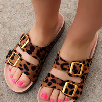 Fancy Feline Sandal