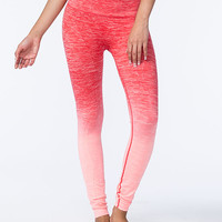 Namawear Long Ombre Womens Yoga Pants Coral Combo  In Sizes