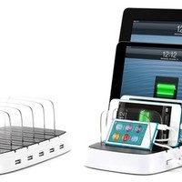USB Charging Station   Griffin Powerdock 5   Griffin Technology