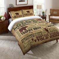 Welcome to the Lodge Comforter