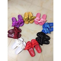 """PUMA"" Rihanna Fenty Leadcat Bow Slide Sandals Shoes (9- Color)"