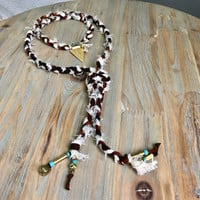 Apache Wrap Necklace