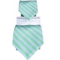 Whitman Teal/Blue Father & Son Tie Combo