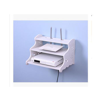 TV STB Box Router Creative Hollow Commodity Shelf