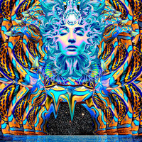 Serenity Poster |  Psychedelic, Abstract, Trippy Wall Art