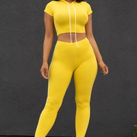 Audrey two piece Set  Yellow