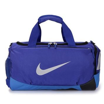 """Nike"" Multicolor Travel Duffel Bag Weekender Extra Large Tote Satchel Handbag"