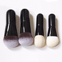 Cute Baby Makeup Brushes Soft Synthetic Goat Hair Make up Brush Professional Cosmetic Blusher Brushes Foundation Brush