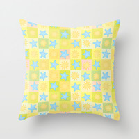 Suns n' Stars Throw Pillow by All Is One