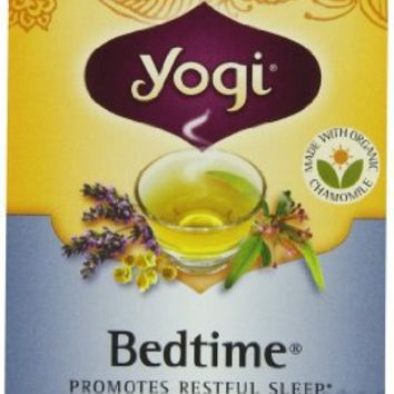 Yogi Teas, 16 Tea Bags (Pack of 6), Bedtime