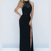 Embellished Bodice Sherri Hill Formal Prom Gown 11328
