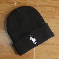 Boys & Men Polo Hip hop Women Men Beanies Winter Knit Hat Cap