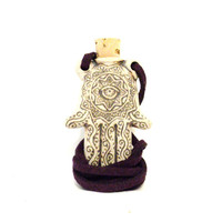 Rear View Mirror Hamsa Accessory Car Ornament Hand of Fatima Protection Evil Eye Decoration Hanger Christmas Stocking Stuffer Gifts For Her