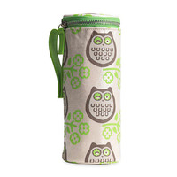 Owl Bottle Carrier Apple & Bee