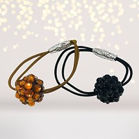 Bling Ball Hair Tie and DIY crafts