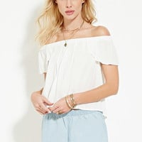 Chambray Shorts | Forever 21 - 2000169540
