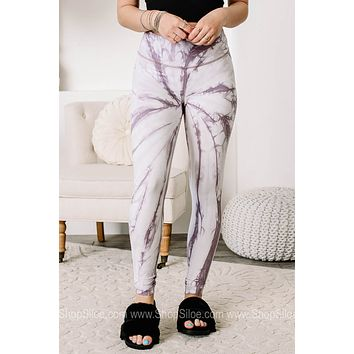 Go Your Own Way Marbled High Waisted Leggings