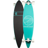 Goldcoast Classic Turquoise Pintail Longboard Turquoise One Size For Men 25894624101