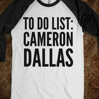 TO DO LIST: CAMERON DALLAS SHIRT (IDC500549)