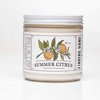 Summer Citrus Soy Candle 13oz