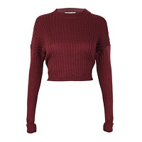 Run to Me Cropped Pullover
