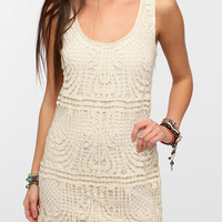 Urban Outfitters - Staring At Stars Macrame Tank Dress