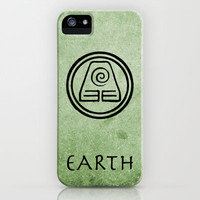 Avatar Last Airbender Elements - Earth iPhone Case by briandublin | Society6